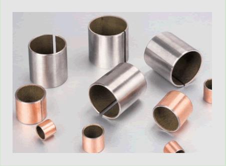 Steel Bearings with Oil Grooves