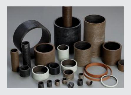 MG-CR Filament wound plastic self-lubricating bearings